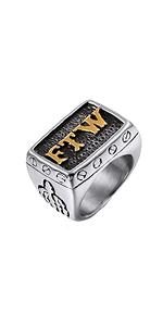 FTW biker ring