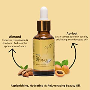 glo radiance face oil