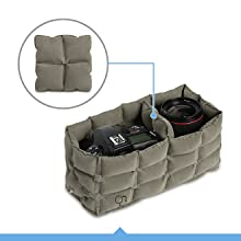 AirBag Packable Bag and Camera Insert