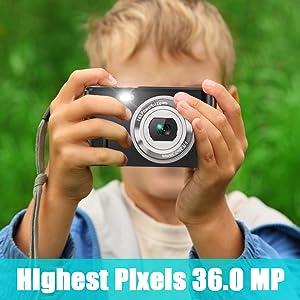 Highest Pixels 36.0 MP