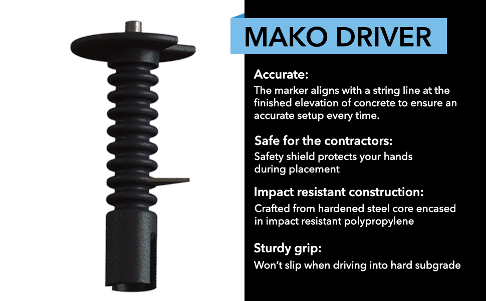 Mako Driver is accurate and safe to use
