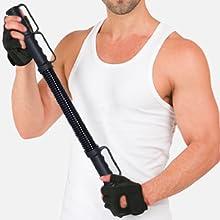 power twister bar 30kg 40kg 50kg bendy bar arm trainer arm strengthener arm exercise equipment