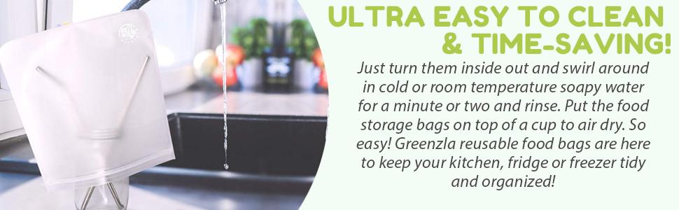 reusable sandwich bags ziplock bag food storage bags snack bags ziplock bags silicone