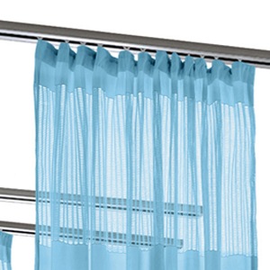 flat hooks cubicle divider curtain