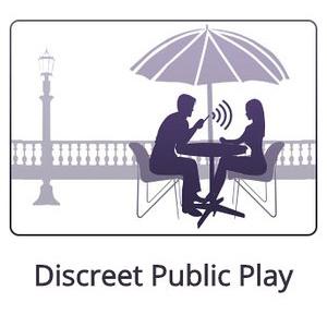 discreet public play