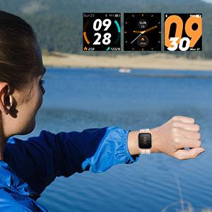 1.3inch color touch screen fitness tracker sport watch smart sport watch step tracker for kids men