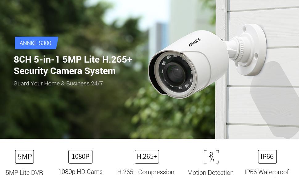 5MP lite security camera system