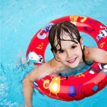 pool floats float inflatable toys swimming toys ring swim rings beach for kids tube floaties childre