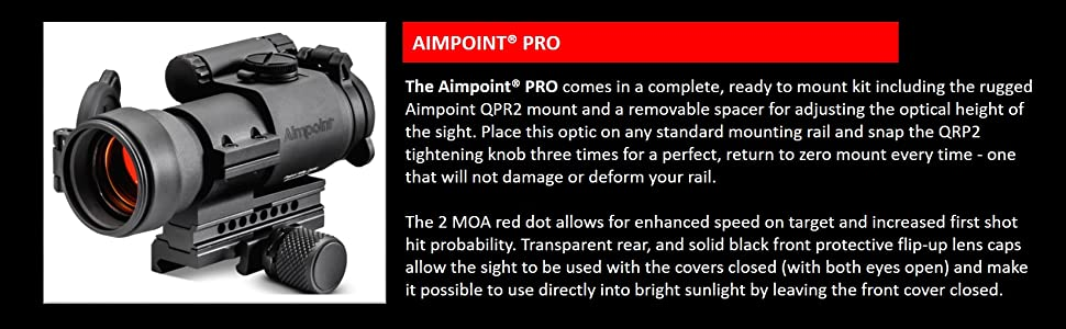 Aimpoint; Aimpoint PRO; Red Dot; Red Dot Sight