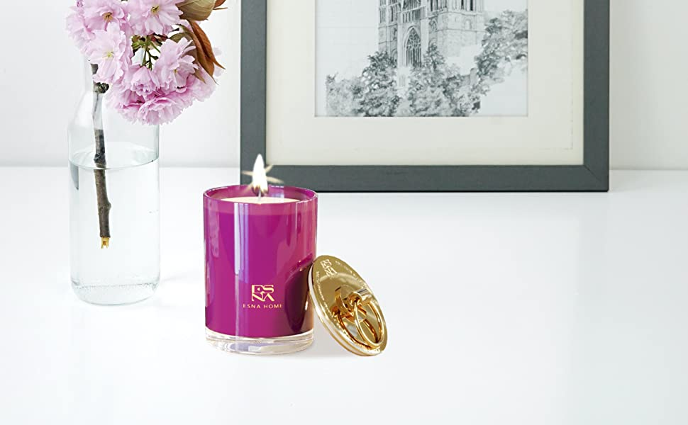 birthday gifts for girlfriend,room decoration,new home,luxury candles,organic candle,gift for sister