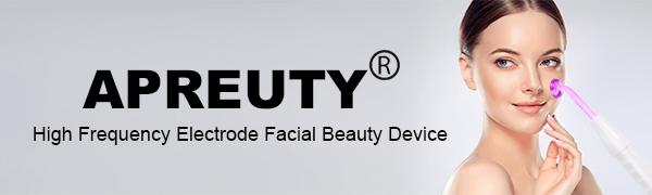 High freuqency facial machine