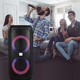 karaoke machine wireless portable tagalog indian microphone speaker magic sing singmasters hindi