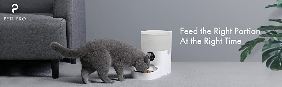 PETLIBRO 4L Automatic Pet Feeder