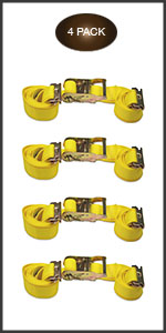 E-Track ratchet straps