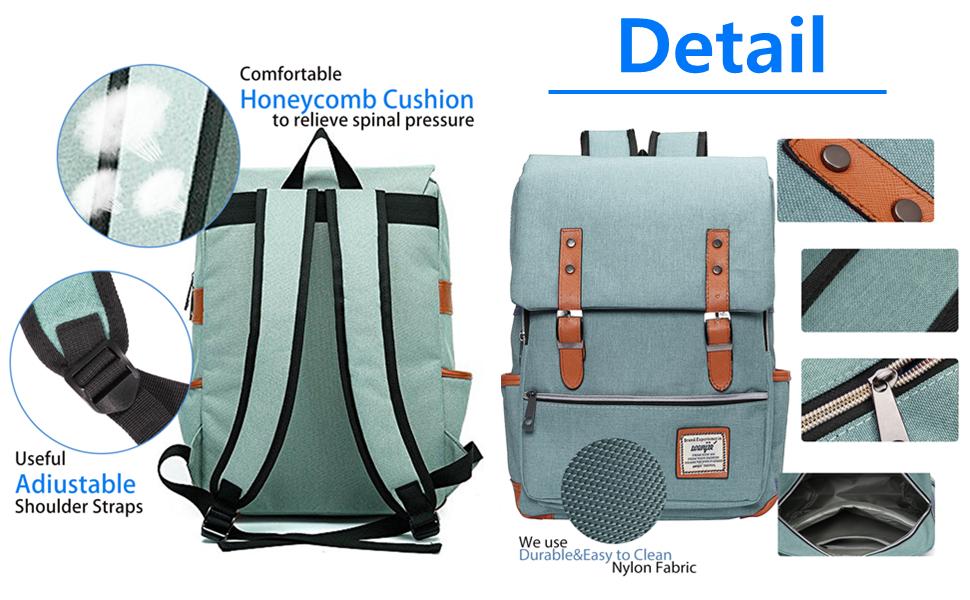 Euro 2016 Football Portugal Baseball White Backpack Daypack Rucksack Laptop Shoulder Bag with USB Charging Port