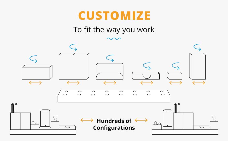 customize your office desk