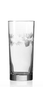Icy Pine Highball Glass
