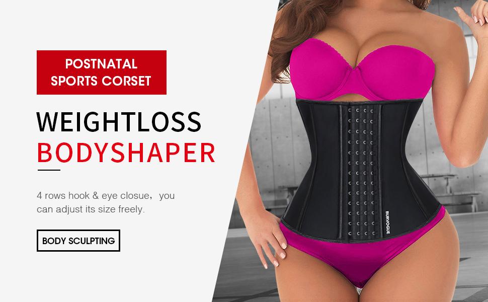 Women postnatal waist trainer