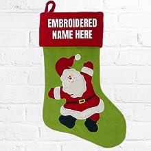 Christmas Stocking - Santa