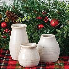 Holiday Small Vase Set