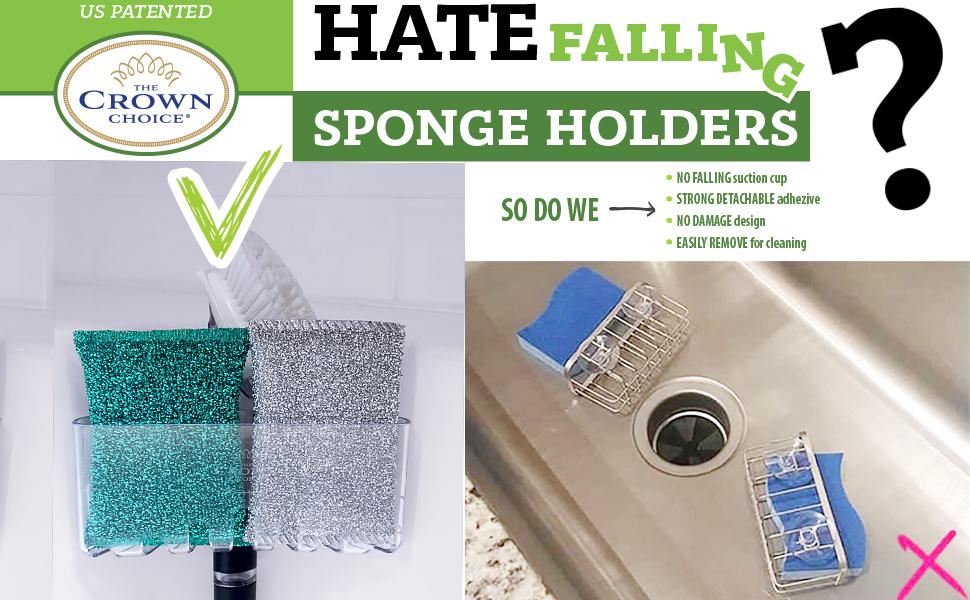 corner sink caddy no fall sponge holder sink sponge holder