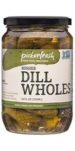 Pickerfresh Kosher Dill Wholes