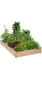 Yaheetech Raised Garden Bed 8x4ft