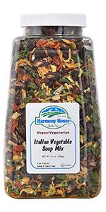 Italian Vegetable Soup Mix