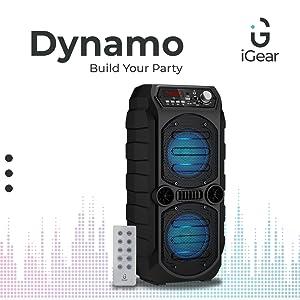 Dynamo, Speaker, Remote, TFT, FM, Pen Drive, Bluetooth