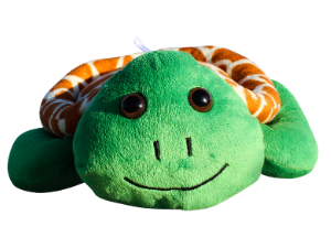 Shore Buddies Shelly the Sea Turtle, plush, stuffed animal, recycled, recycling, ocean plastic