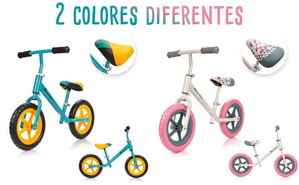 meteor Bicicleta sin Pedales para Niños 2-6 años hasta 30 kg ...