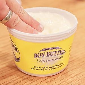 Boy butter long lasting love making