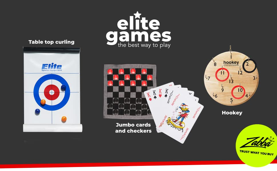Elite games has a whole family of games that are fun for the whole family.