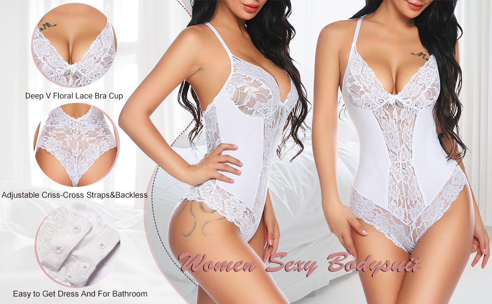 roleplay lingerie for women lace bodysuit set women laides sexy lace bodysuit langery