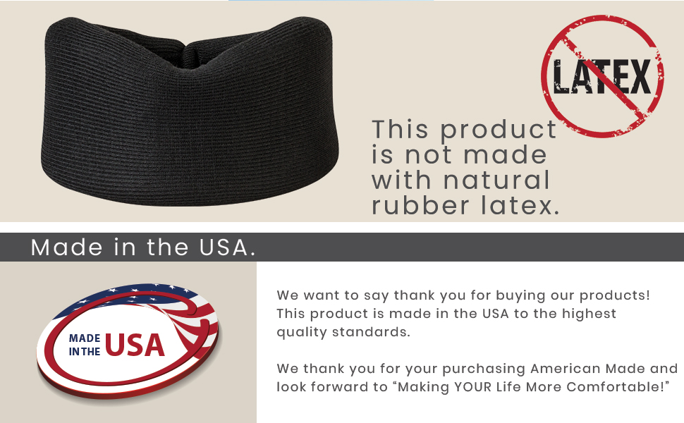 Latex Free made in USA