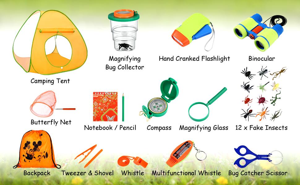 Outdoor Explorer kit for Kids