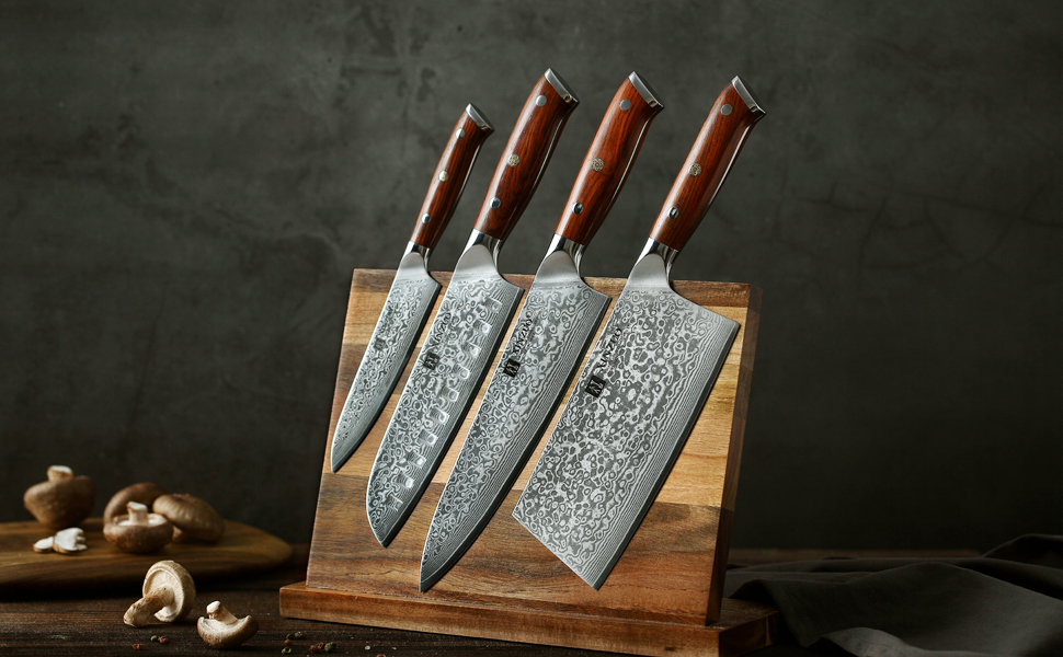 XINZUO brand For every knife manufactured, we insist on improving product quality and innovation.
