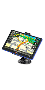 7 inch gps navigation for car truck system
