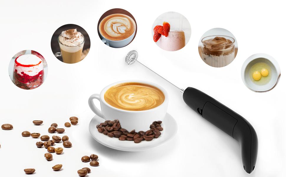 Create good foam for coffee