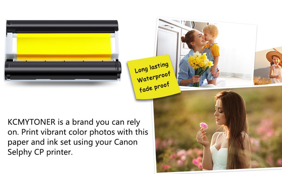 KCMYTONER Brand Ink paper set