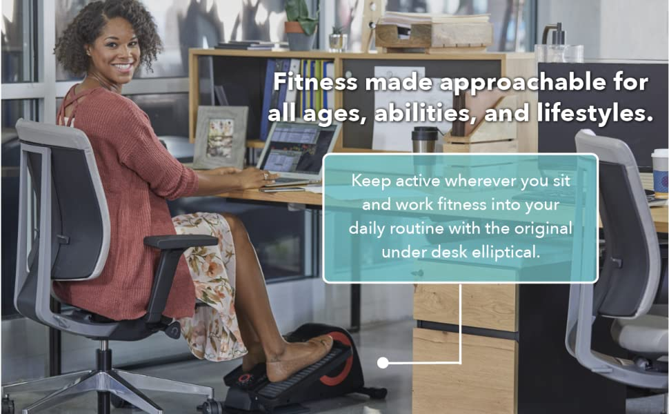 Fitness made approachable for al ages, abilities, and lifestyles.