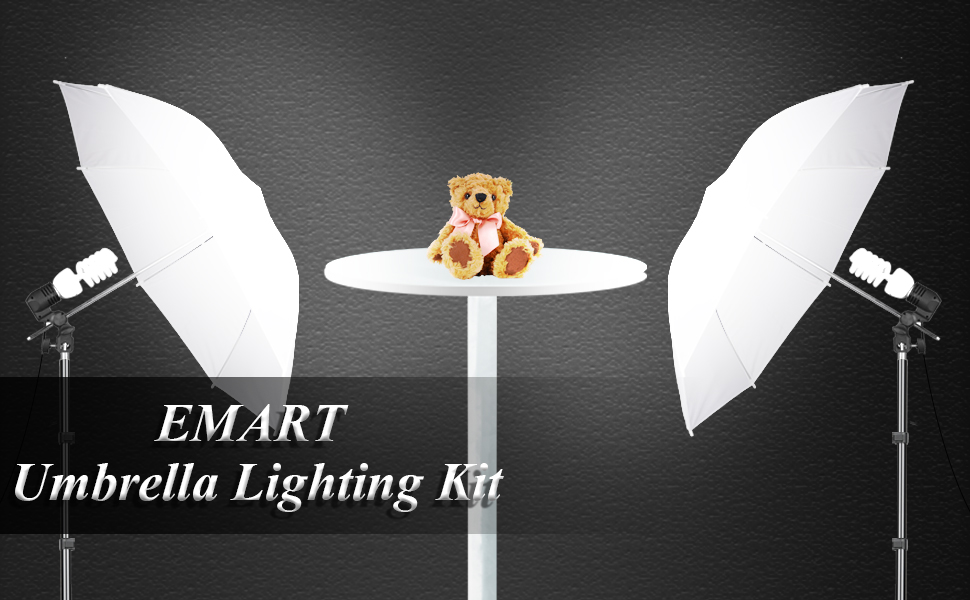 Photography Umbrella Lighting Kit