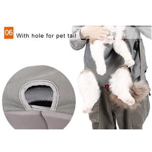 details of dog backpack 300-6