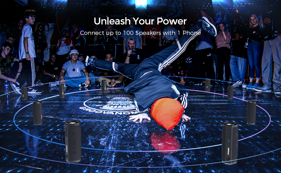bluetooth speakers portable speaker wireless speaker waterproof speaker