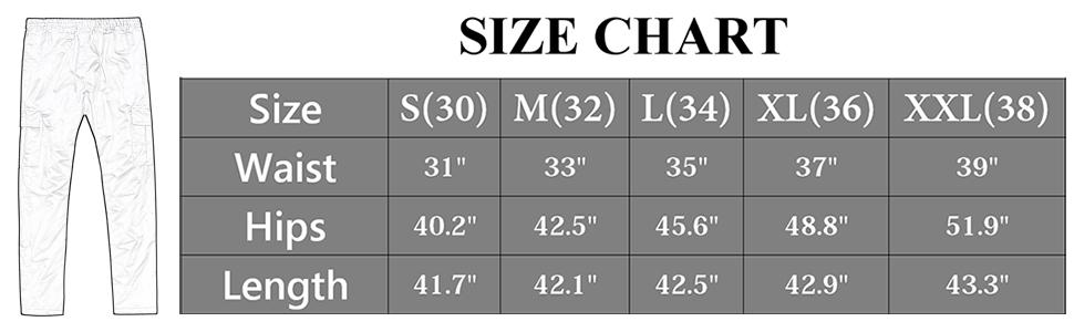 918size chart