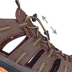 men hiking sandals adjustable strap shoes