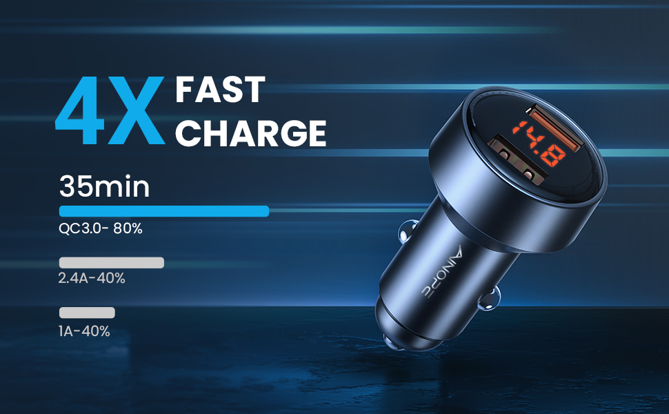 Fast Car Charger Cigarette Lighter USB Charger USB Car Charger Car Charger Adapter