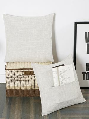 invisible zipper 18 inch cream decorative pillow covers off white cream bed decor cream couch pillow