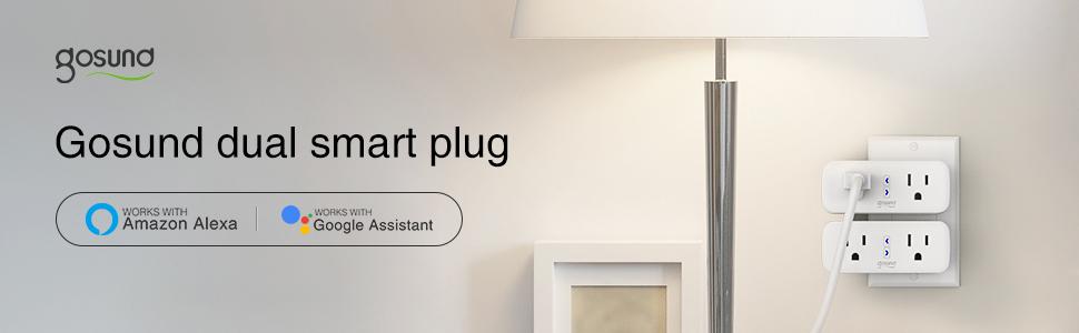 Gosund dual smart plug