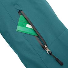 Wantdo Wo1men's Ski Jacket Mountain Raincoat Hooded Parka Waterproof Winter Coat